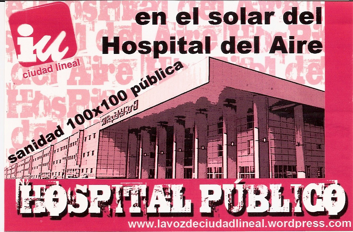 Hospitales militares. Patata caliente que nadie quiere.